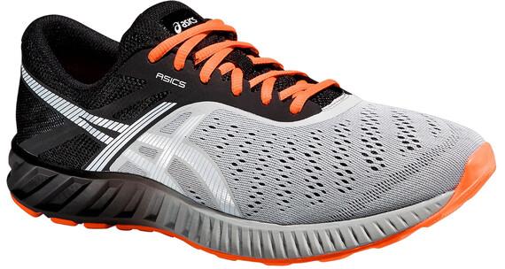 asics M's fuzeX Lyte Shoes Light Gray/White/Flash Coral